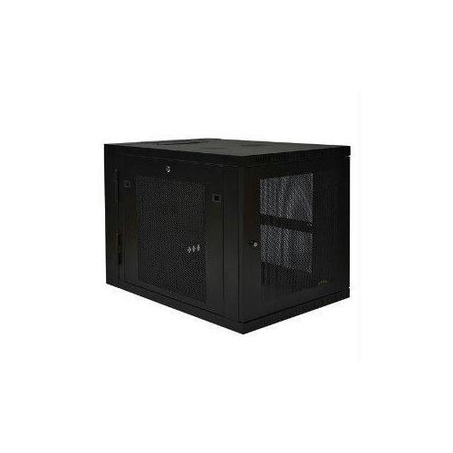 12U WALL MOUNT RACK ENCLOSURE SERVER CABINET HINGED 33 INCH EXTENDED DEPTH