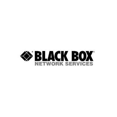 Black Box Network Services Snap-on Patch Cable Boot, 50-pack, Black