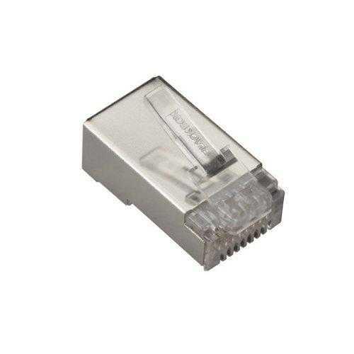 Black Box Network Services Cat6 Shielded Modular Plug, 50-pack