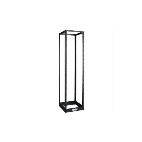 45U 4-POST OPEN FRAME RACK CABINET THREADED 12-24 MOUNTED HOLES