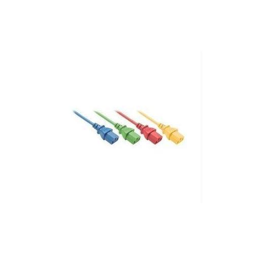 10FT BLACK C13-C14 PDU/ SERVER ULTRA FLEXIBLE POWER CORD, SVT, 10AMP, 250V