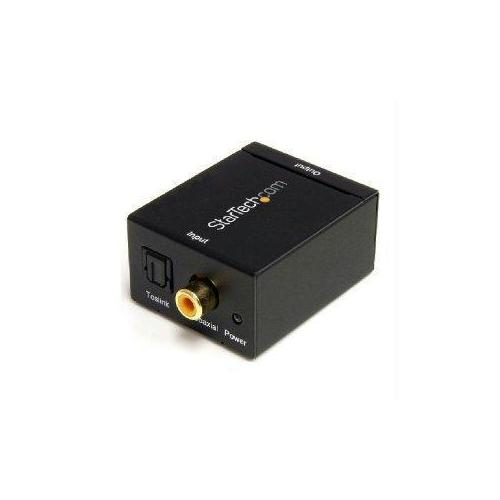 Startech Convert A Digital Coax Or Toslink Signal To Stereo Rca Audio - Digital Coax To T
