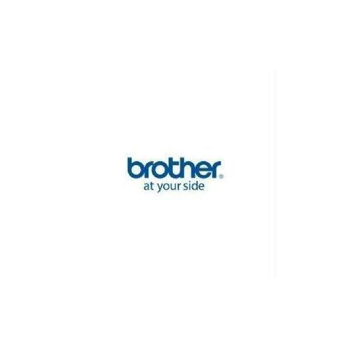 Brother Mobile Solutions 12mm (0.47) Black On White Hge Tape With Extra Strength Adhesive 8m (26.2 Ft) -