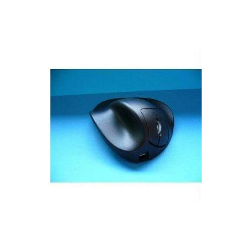 HIPPUS HANDSHOE EROGONOMIC MOUSE WIRELESS BLACK LARGE-LIGHT CLICK-FULLY SUPPORTS