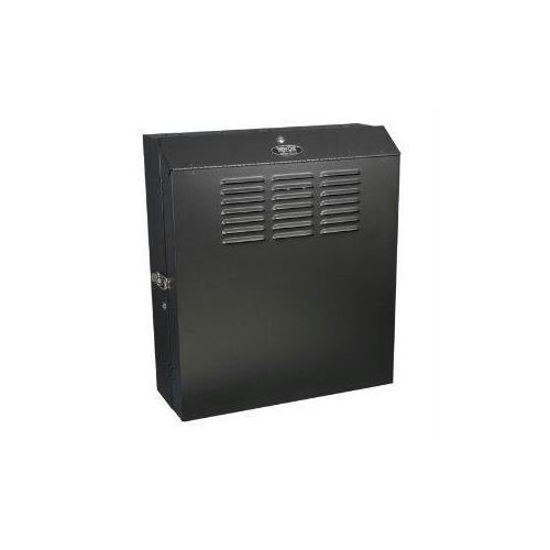 5U WALL MOUNT LOW PROFILE SECURE RACK ENCLOSURE CABINET VERTICAL