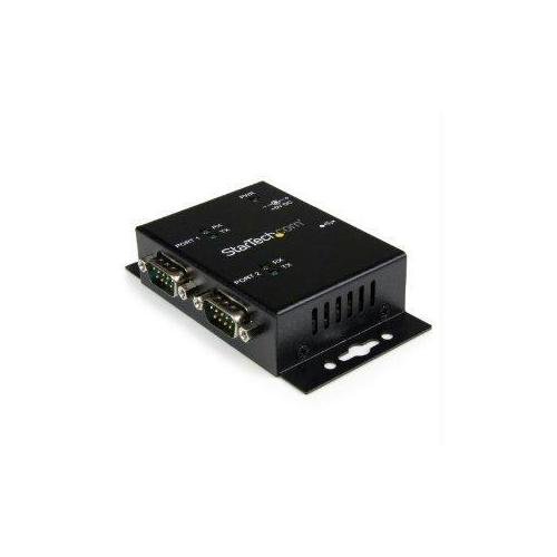ADD 2 DIN RAIL-MOUNTABLE RS232 SERIAL PORTS TO ANY SYSTEM THROUGH USB - USB TO S