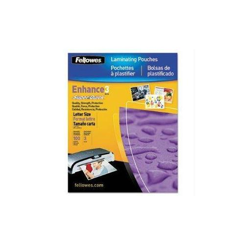 Fellowes, Inc. Laminating Pouch Letter 11.5in X 9in Landscape 3mil 100pk
