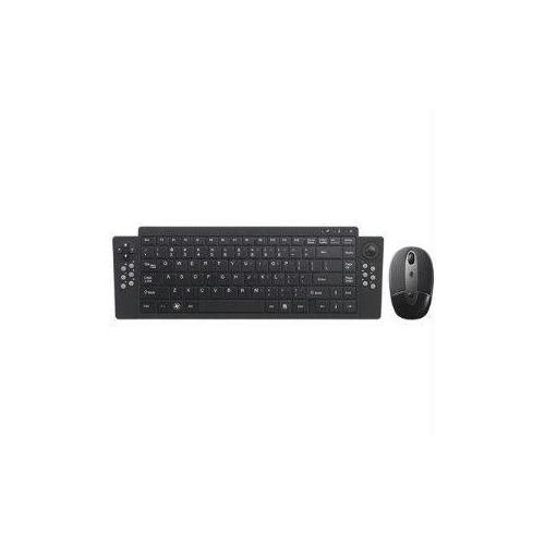 RECHARGEABLE WIRELESS KEYBOARD SUITE W/ RECHARGEABLE MOUSE AND PROVIDES CONTROL