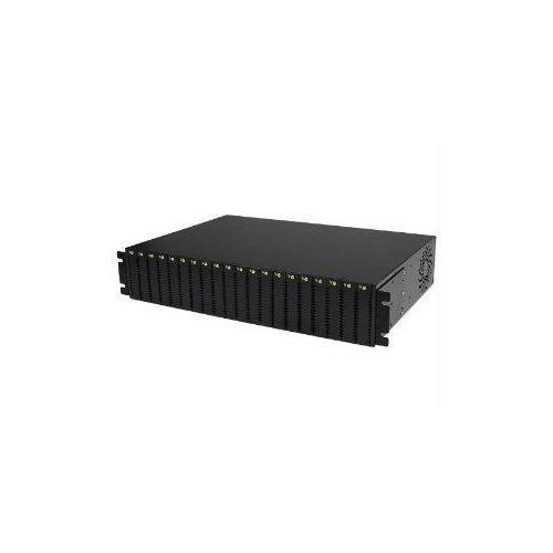 ADD AN UN-MANAGED, 20-SLOT MEDIA CONVERTER CHASSIS TO YOUR RACK OR CABINET - MED