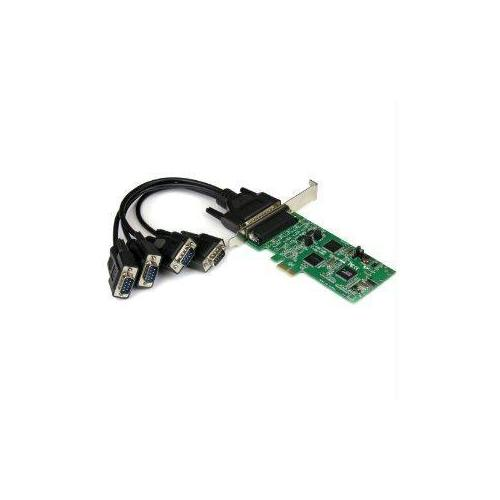 Startech Add Two Rs232, And Two Rs422/485 Serial Ports To Your Pc Through A Pci-express E