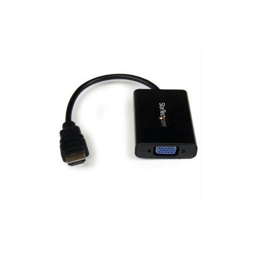 CONVERT AN HDMI VIDEO SIGNAL TO VGA, WITH DISCRETE AUDIO OUTPUT -HDMI TO VGA AND