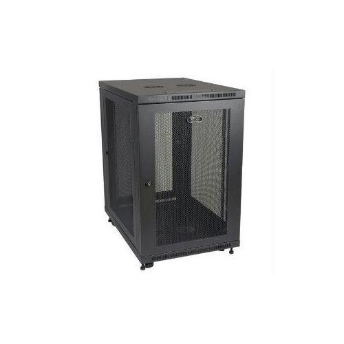 18U RACK ENCLOSURE SERVER CABINET 33 INCH DEEP W/ DOORS & SIDES