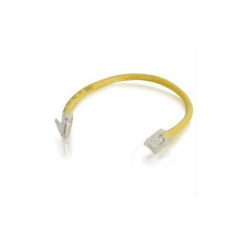 C2G 25FT CAT6 NON-BOOTED UNSHIELDED (UTP) NETWORK PATCH CABLE - YELLOW