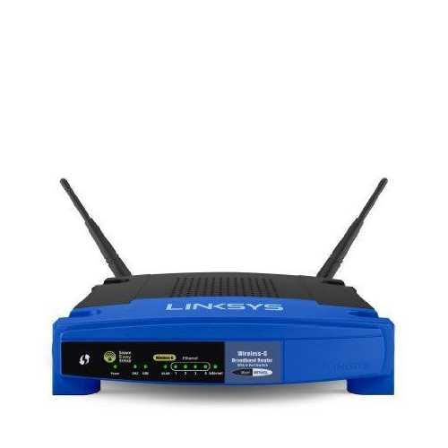 Linksys Wireless-g Broadband Router. 128-bit Security Encryption, Access Filteri