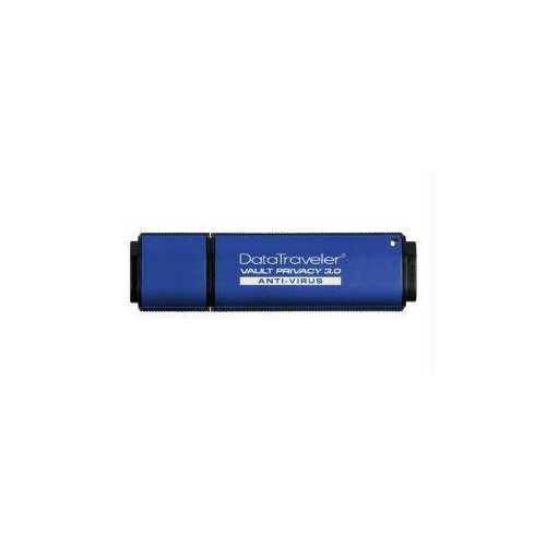 Kingston 8gb Dtvp30av, 256bit Aes Encrypted Usb 3.0 + Eset Av