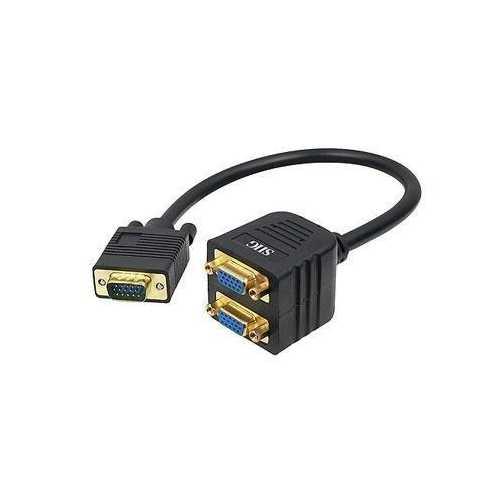 1 FT VGA TO 2X VGA SPLITTER CABLE - M/F