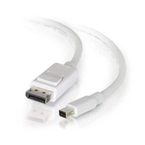 6ft C2g Mini Displayport To Dp Cable Wh