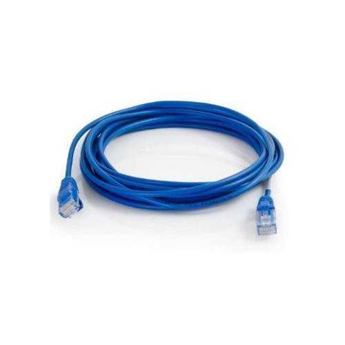 0.5FT CAT5E UTP 28AWG BLUE