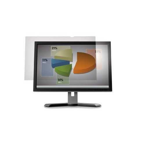 3m Mobile Interactive Solution 3m Ag23.0w9 Anti-glare Filter For Widescreen Desktop Lcd Monitor 23 Inch