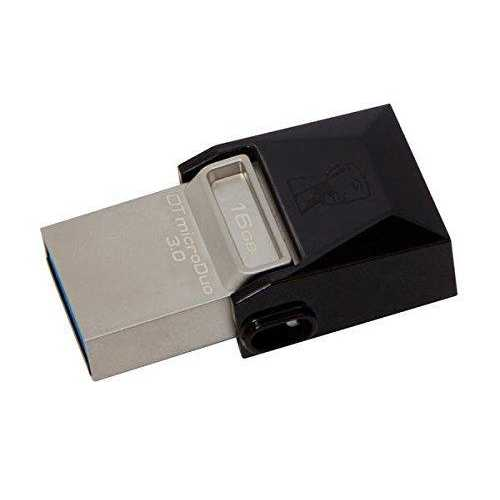 Kingston Dtduo3/16gb - Usb Flash Drive - 16 Gb - 70mb/s Read, 10mb/s Write