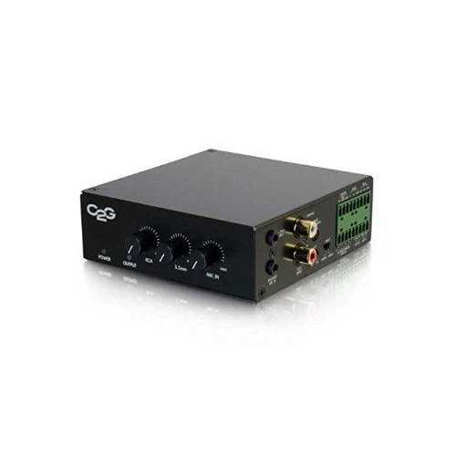 8 OHM 50W AUDIO AMPLIFIER - PLENUM RATED