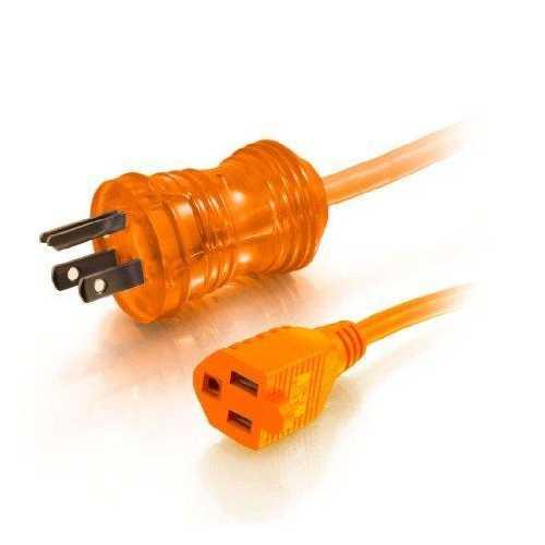 C2g 25ft 16awg Hospital Grade Power Extension Cable (nema 5-15p To Nema 5-15r) - Ora