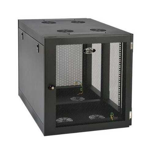 12U WALL MOUNT RACK ENCLOSURE SERVER CABINET SIDE MOUNT WALLMOUNT
