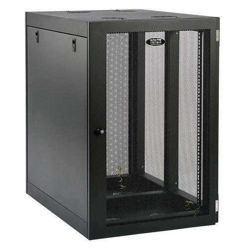 18U WALL MOUNT RACK ENCLOSURE SERVER CABINET SIDE MOUNT WALLMOUNT