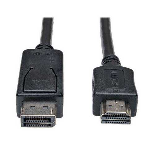 10FT DISPLAYPORT TO HD ADAPTER CONVERTER CABLE VIDEO / AUDIO M/M 10FT