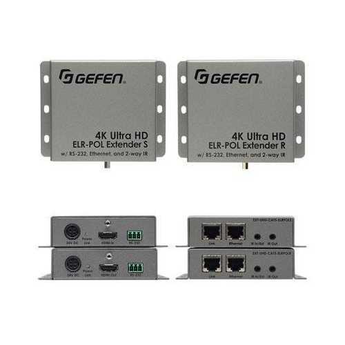 Gefen Inc 4k Hdmi Extender, Rs-232, Ethernet And Bi Ir Over Cat5