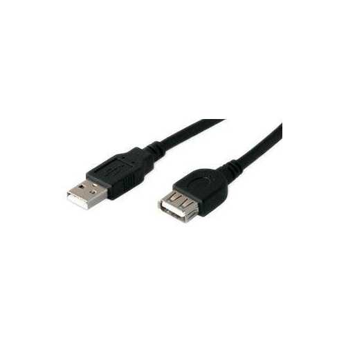 Add-on Addon 15.24cm (6.00in) Usb 2.0 (a) Male To Female Black Extension Cable