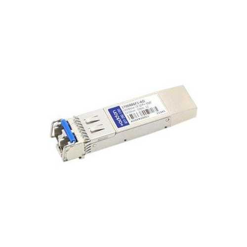 ADDON ADTRAN 1700486F1 COMPATIBLE TAA COMPLIANT 10GBASE-LR SFP+ TRANSCEIVER (SMF