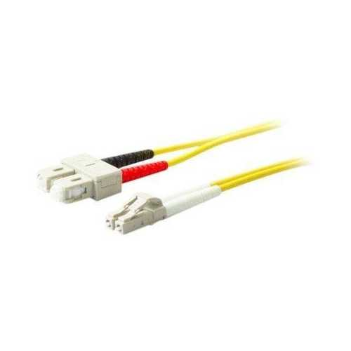 Add-on This Is A 15m Sc (male) To Sc (male) Yellow Duplex Riser-rated Fiber Patch Cable
