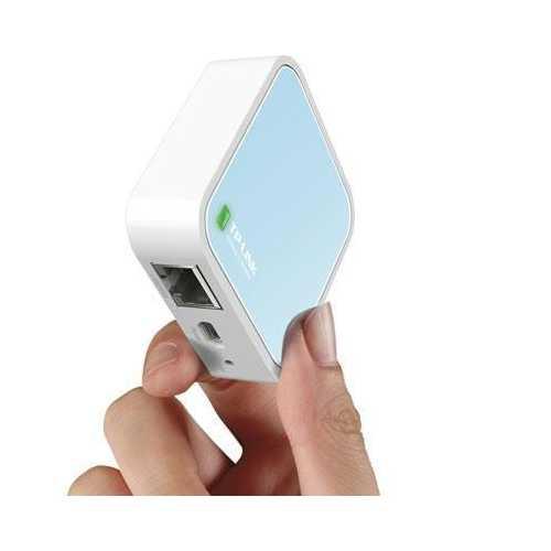 Tp-link Usa Corporation N300 Pocket Ap Router, 2.4ghz, 802.11n/g/b, 1 Ethernet Port, 1 Micro Usb Port
