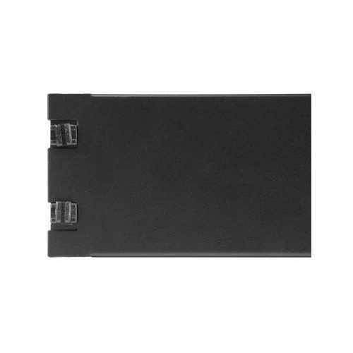2U BLANK PANEL WITH TOOL-LESS INSTALLATION - FILLER PANEL FOR SERVER RACKS AND C