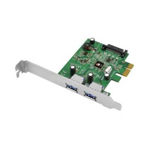 ADDS TWO USB 3.1 TYPE-A PORTS TO YOUR DESKTOP COMPUTER VIA AN AVAILABLE PCI EXPR