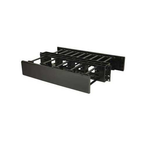 Legrand 2u Double-sided Horizontal Cable Management Panel, Manages Cable Within A Rack O