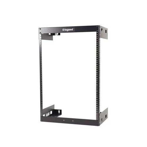 15U WALL MOUNT OPEN FRAME RACK - 18IN DEEP
