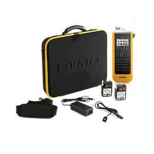 Dymo Xtl 300 Label Maker Kit, Qwerty, 1in, Black And Yellow, Including: Xtl300 P