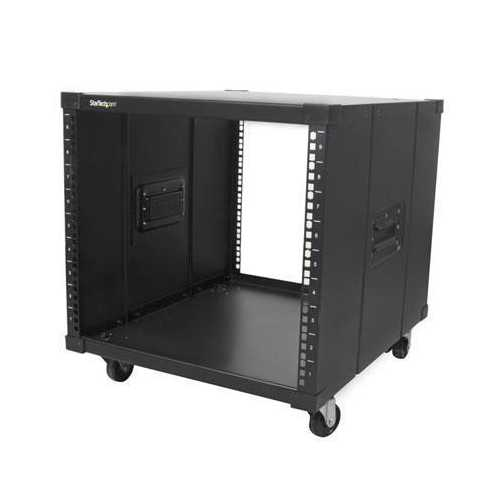 Startech Portable Server Rack With Handles - 9u. Store Your Servers, Network And Telecomm