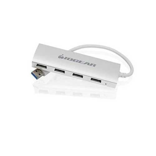 Iogear Hub Series You Can Instantly Expand Your Usb Connectivity With 4 Superspeed Usb