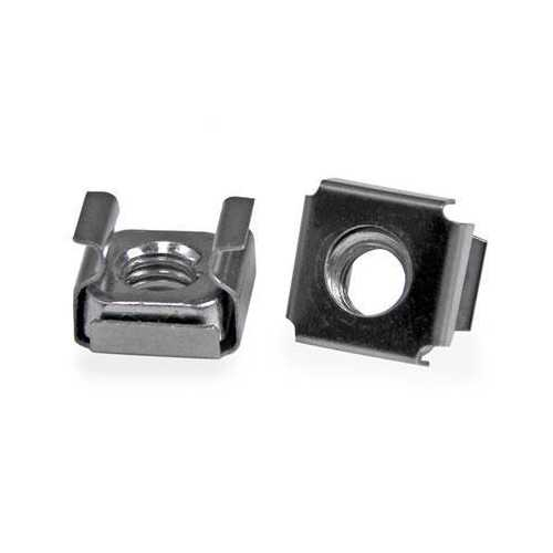INSTALL YOUR RACK-MOUNTABLE HARDWARE SECURELY WITH THESE HIGH QUALITY CAGE NUTS