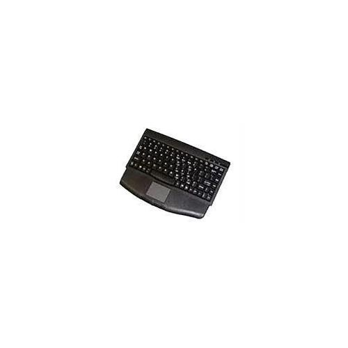 ADESSO MINITOUCH PS/2 MINI KEYBOARD WITH TOUCHPAD (BLACK)