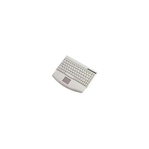 ADESSO MINITOUCH PS/2 MINI KEYBOARD WITH TOUCHPAD (WHITE)