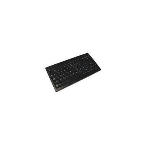 ACK-595 - MINI KEYBOARD WITH EMBEDDED NUMERIC KEYPAD (PS/2, BLACK)