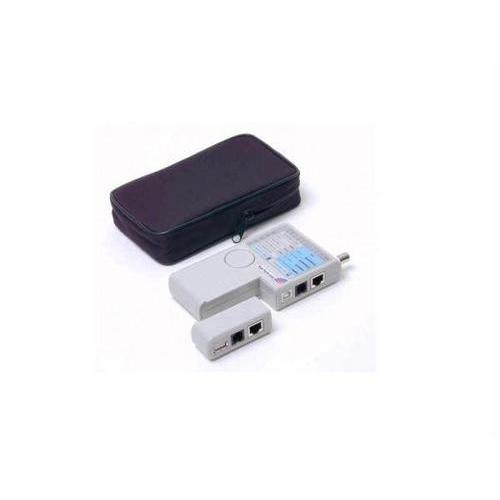 PROFESSIONAL MULTI FUNCTION RJ45 RJ11 USB AND BNC CABLE TESTER