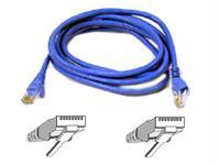 Belkin Components Patch Cable - Rj-45 (m) - 15 Ft - Utp ( Cat 6 ) - Blue