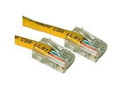 C2g 75ft Cat5e Non-booted Unshielded (utp) Network Patch Cable - Yellow