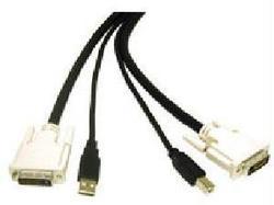 C2g 10ft Dvi™ Dual Link + Usb 2.0 Kvm Cable