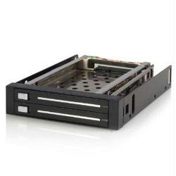 EASY, TRAYLESS REMOVAL AND INSERTION OF DUAL 2.5IN SATA HARD DRIVES FROM SINGLE